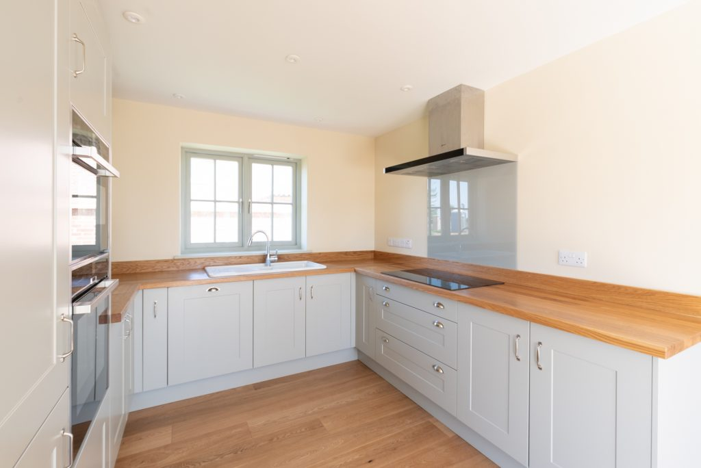 Ambient photograph of a kitchen in Norfolk - Flambient Property Photography