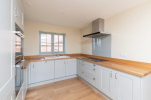 Flash photograph of a kitchen in Norfolk - Flambient Property Photography